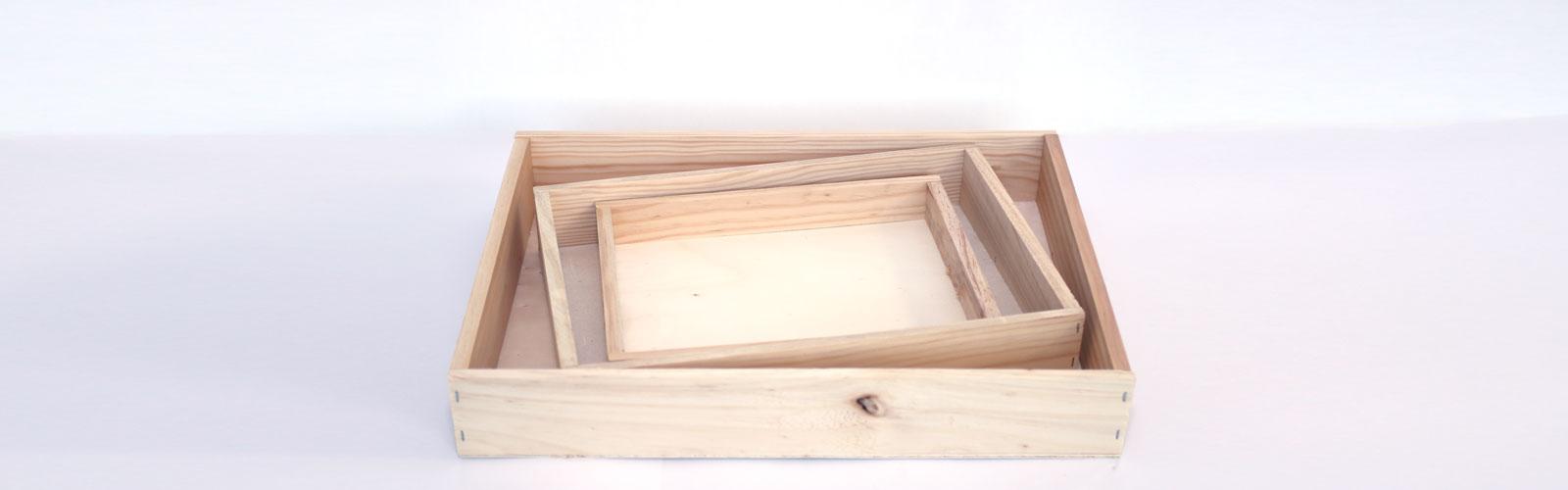 venta de cajas de madera - caja de marisco de madera